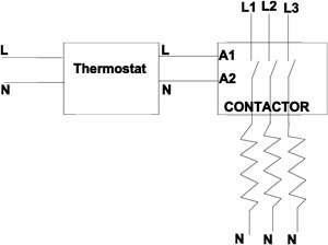 [QNCB_7524]  thermostat with contactor problem...help | DIY Tiling - Tiling Courses |  Tiling Tools - TilersForums.com | Wiring Diagram For Electric Underfloor Heating |  | Tiling Forum