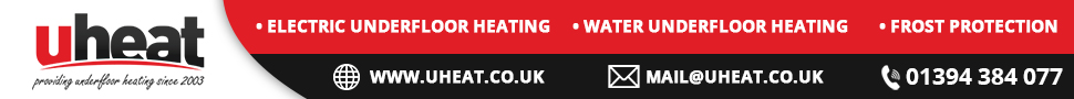 uHeat Official Forum Sponsor for Underfloor Heating (Electric and Wet)
