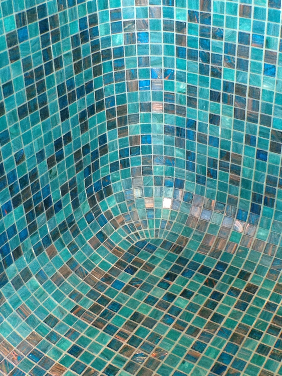 Bisazza Mosaic How A 3 Way Corner Is Created With Mosaic